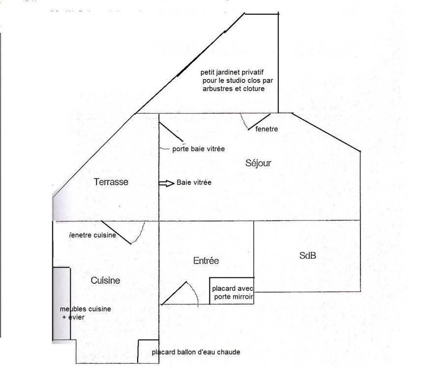 Appartement Courbevoie (92400) 980€