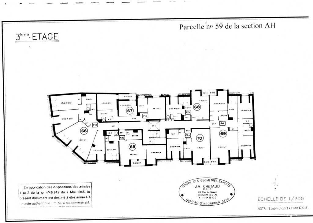 Appartement 767€ 44m² Rambouillet (78120)