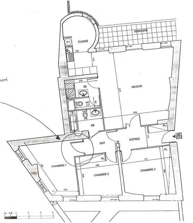 Immobilier Nanterre (92000) 2.940€ 114m²