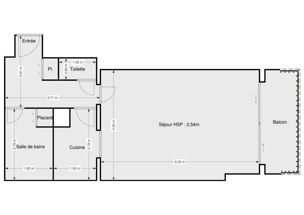 Vente Appartement Deauville (14800) 40m² 190.000€
