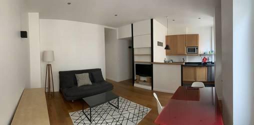 Location meublée appartement 2pièces 43m² Paris 11E (75011) - 1.700€