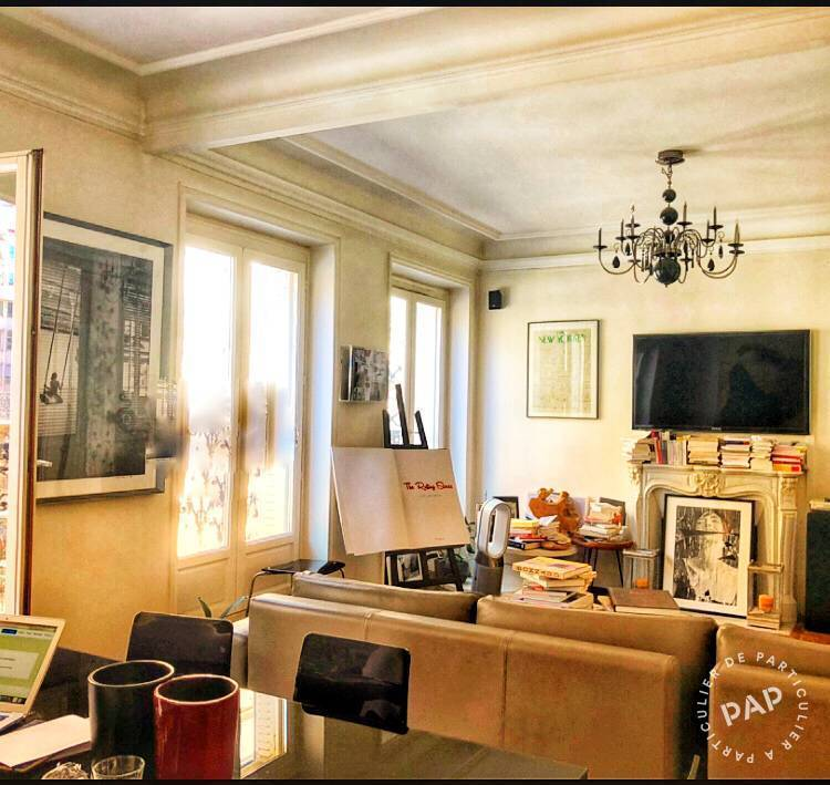 Vente Appartement Paris 17E (75017) 80m² 1.100.000€