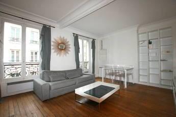 Location meublée appartement 3pièces 50m² Paris 17E (75017) - 1.600€
