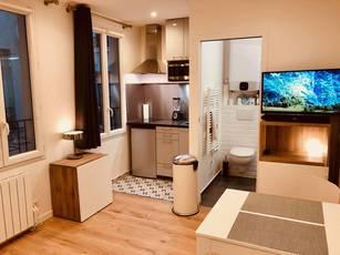 Location meublée studio 18m² Paris 17E (75017) - 920€