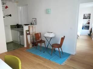 Location meublée appartement 2pièces 40m² Paris 19E (75019) - 1.400€