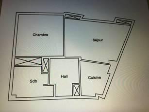 Vente appartement 2pièces 44m² Cannes (06400) - 228.000€