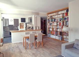 Location meublée appartement 3pièces 80m² Tours (37000) - 1.100€