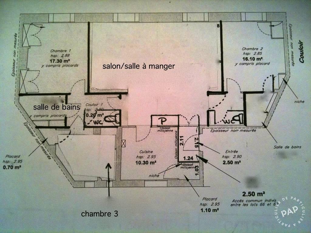Vente immobilier 749.000€ Lyon 6E (69006)