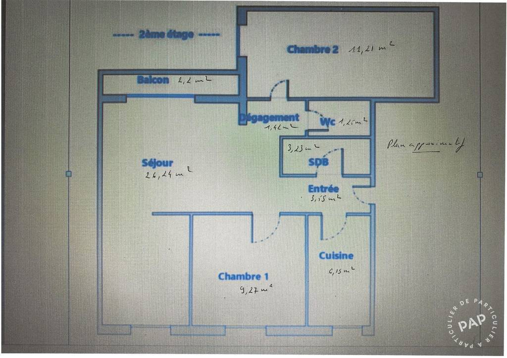 Appartement Chatou (78400) 360.000€