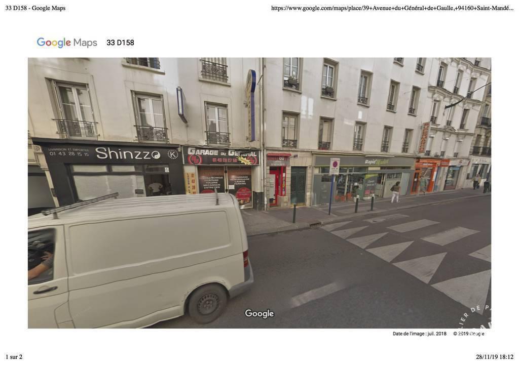 Vente et location Fonds de commerce Saint-Mandé (94160)  99.900€
