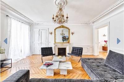 Location meublée appartement 4pièces 117m² Paris 8E (75008) - 4.950€