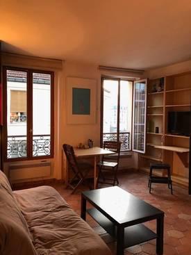 Location meublée studio 20m² Paris 19E (75019) - 730€