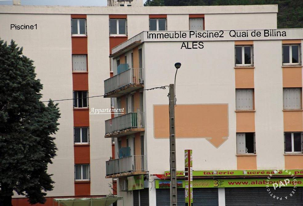Appartement 55.000€ 74m² Alès (30100)