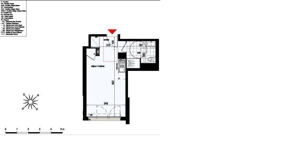 Location appartement studio Bobigny (93000)