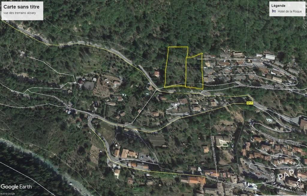 Vente Terrain Roquestéron (06910)  80.000€