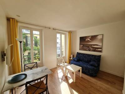 Location meublée studio 21m² Paris 17E (75017) - 850€