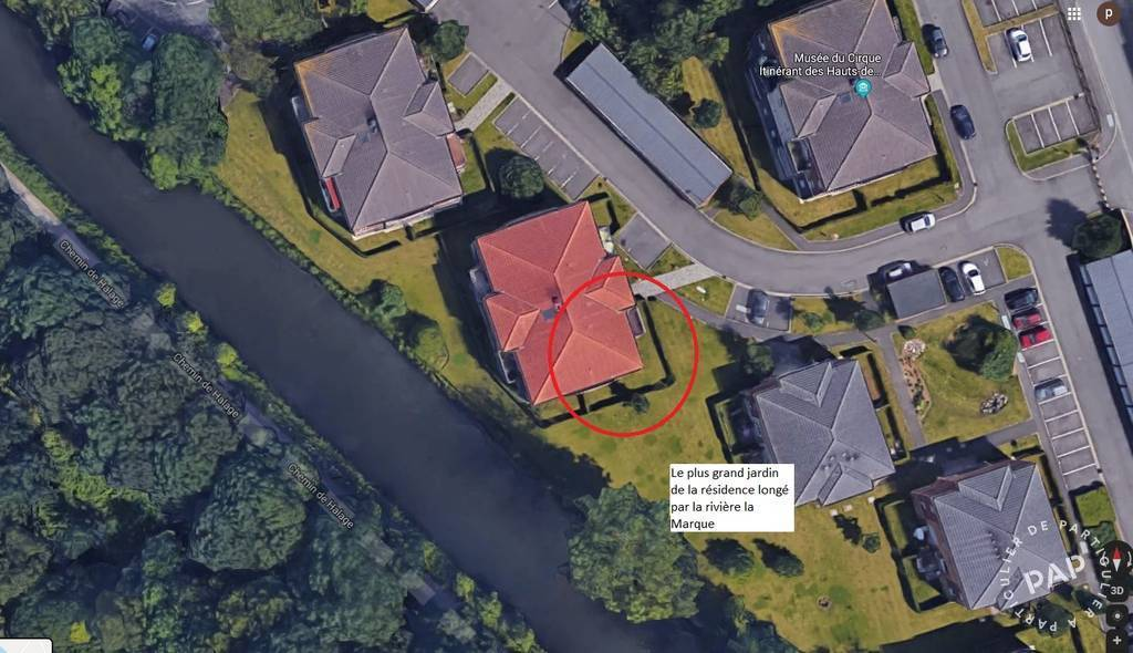 Vente Appartement Wasquehal (59290) 42m² 139.000€