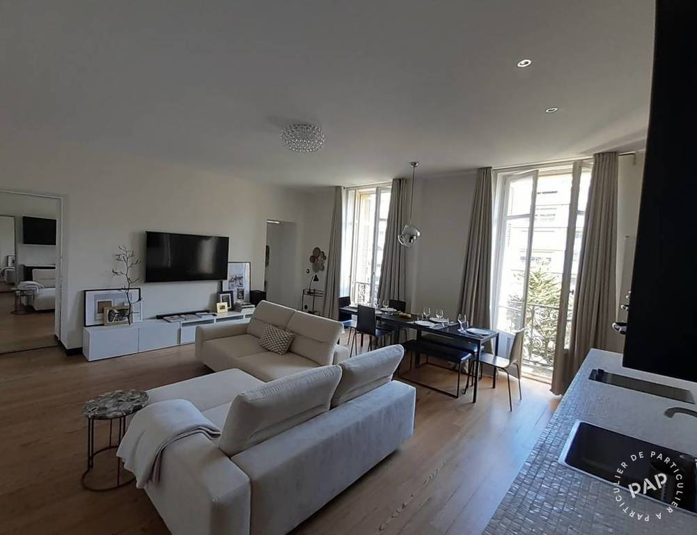 location meublee appartement  pieces   biarritz