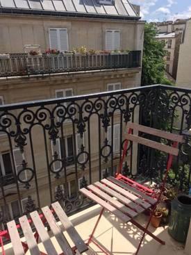 Location meublée chambre 22m² Paris 17E (75017) - 742€