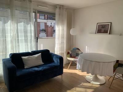 Location meublée studio 29m² Paris 15E (75015) - 1.290€