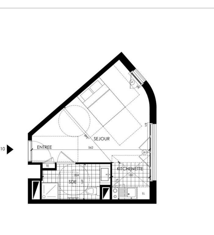 Location Appartement Le Perreux-Sur-Marne (94170) 27m² 699€