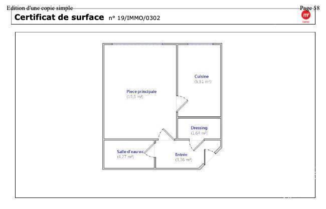 Appartement 1.050€ 30m² Boulogne-Billancourt (92100)