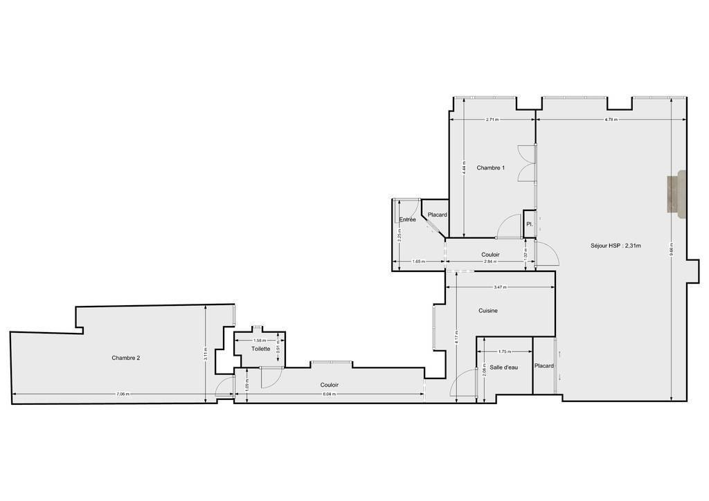 Vente Appartement Lyon 2E (69002) 98m² 590.000€