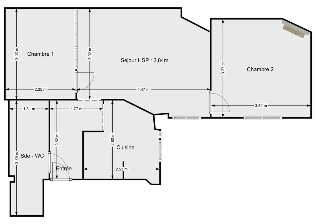 Vente Appartement Paris 13E (75013) 43m² 469.000€