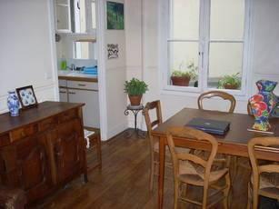 Location meublée appartement 2pièces 37m² Paris 20E (75020) - 1.100€