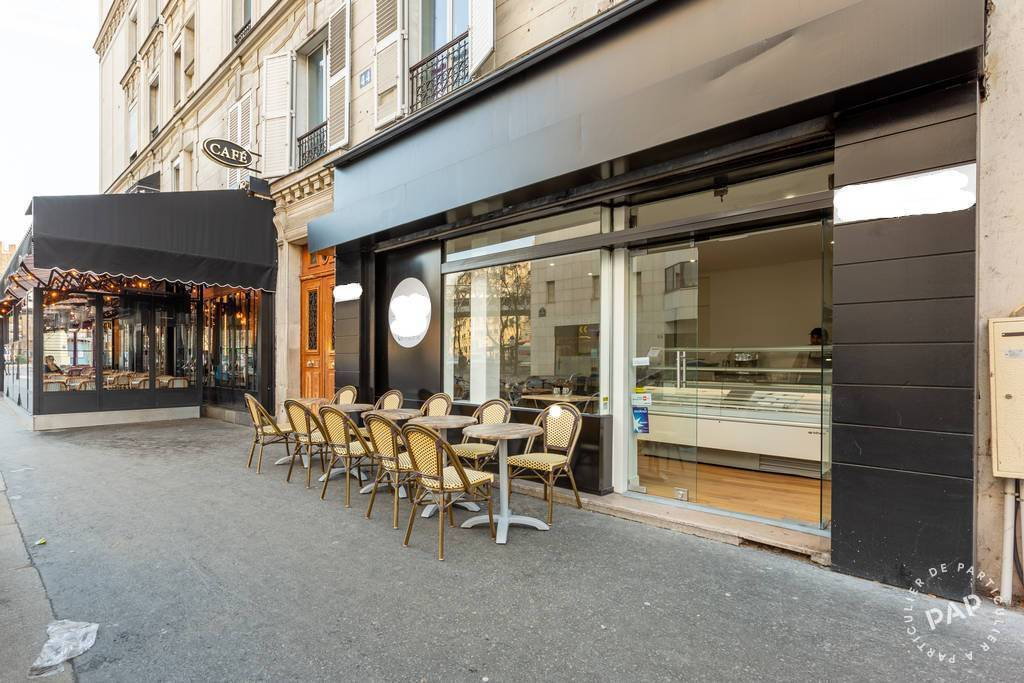 Vente et location Fonds de commerce Paris 15E 37 m² 120.000 €