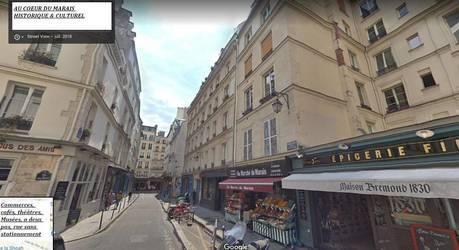 Location meublée appartement 2pièces 29m² Paris 4E (75004) - 1.303€