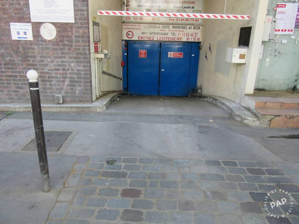 Vente Garage, parking Paris 13E (75013)  12.300€