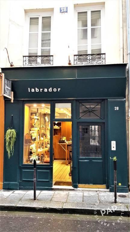 Vente et location Local commercial Paris 4E 13m² 1.600€