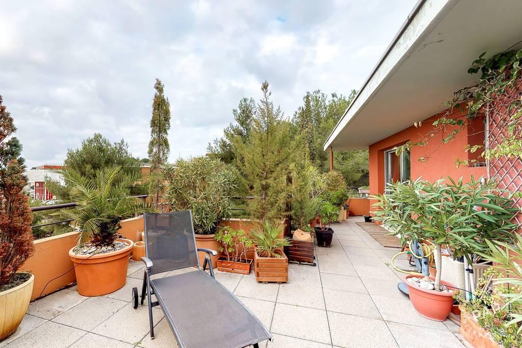 Vente Appartement + Grande Terrasse 74 M²