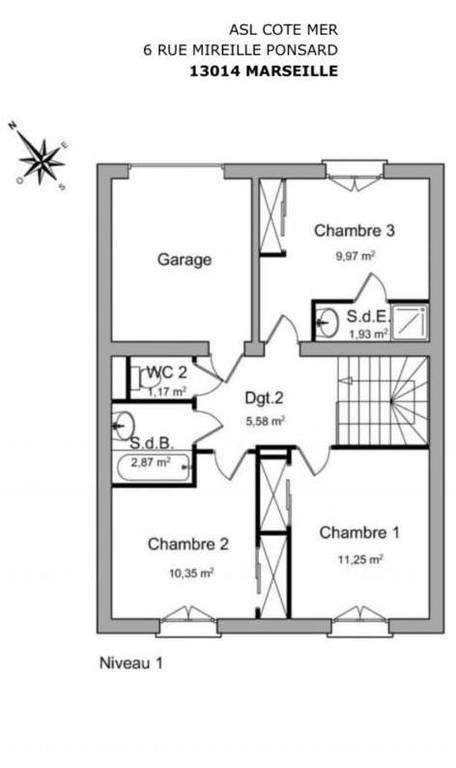 Maison 259.000€ 80m² Marseille 14E (13014)