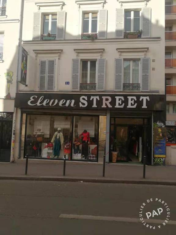 Vente Local commercial Paris 20E (75020) 110m² 100.000€