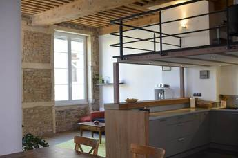 Location meublée appartement 3pièces 72m² Lyon 4E (69004) - 1.450€