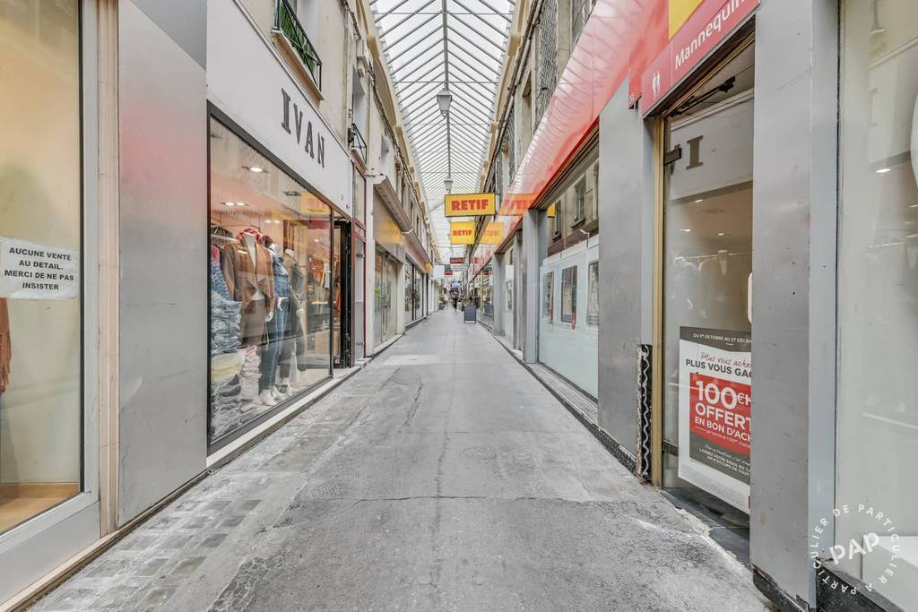 Location Local commercial Paris 2E (75002)