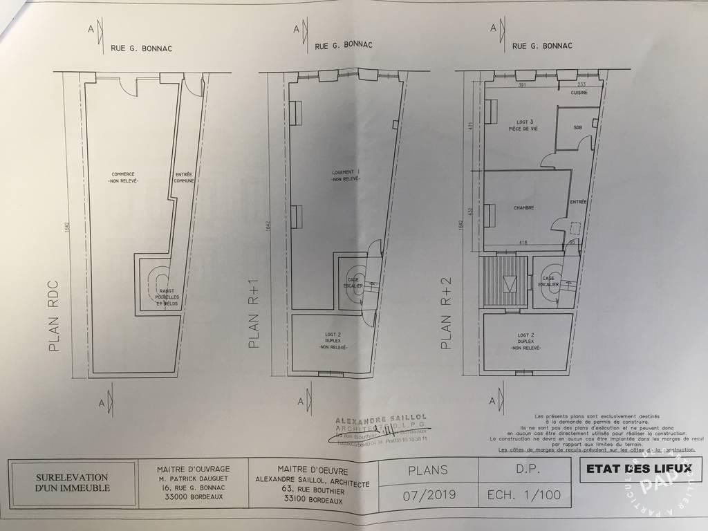 Appartement 335.000€ 89m² Bordeaux (33000)