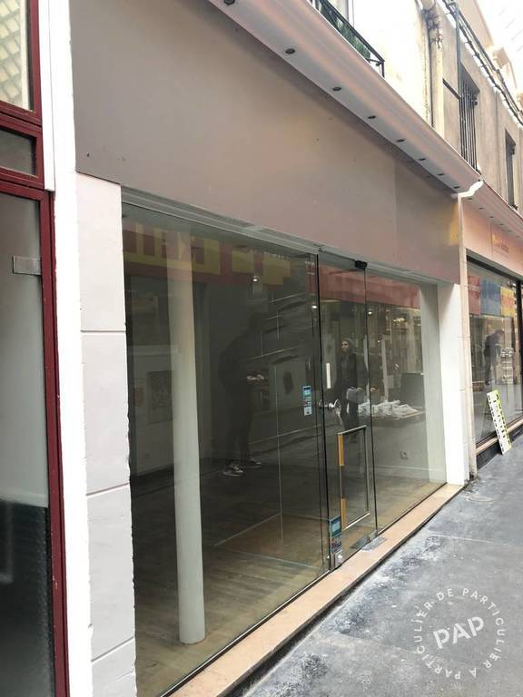 Local commercial 990€ 20m² Paris 2E (75002)