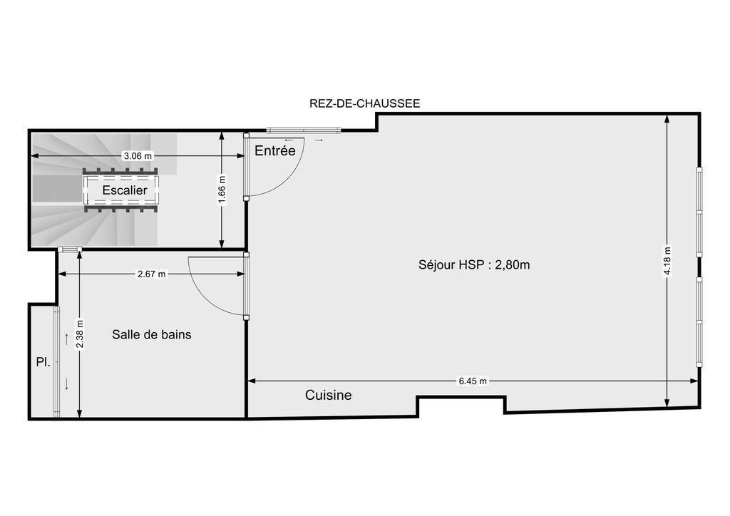 Vente Appartement 25Min Agen / Nérac 60m² 65.000€