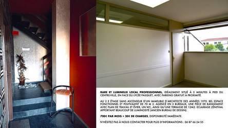 Location bureaux et locaux professionnels 72m² Arles (13200) - 720€