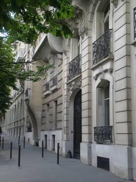 Location meublée studio 10m² Paris 16E (75016) - 550€