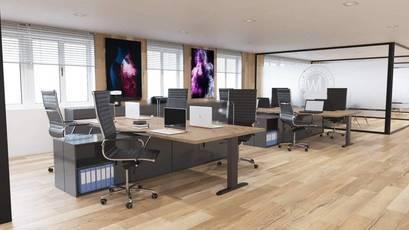Location bureaux et locaux professionnels 173m² Paris 17E (75017) - 6.990€