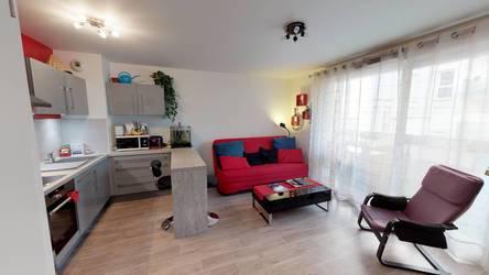 Location meublée appartement 2pièces 42m² Meaux (77100) - 896€