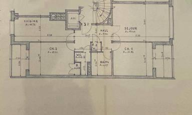 Location appartement 3pièces 70m² Nogent-Sur-Marne (94130) - 1.370€