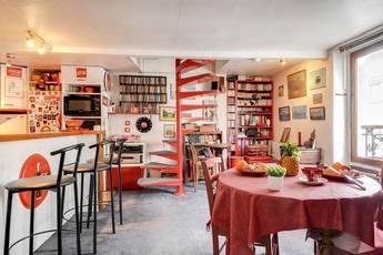 Location meublée appartement 3pièces 53m² Paris 11E (75011) - 1.850€