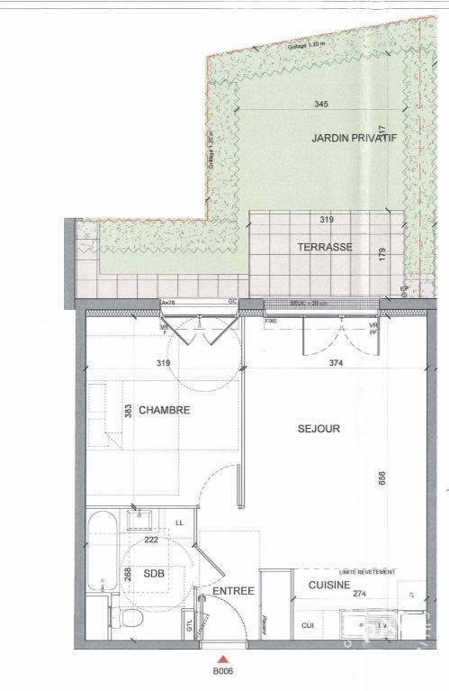 Vente Appartement Montévrain (77144) 45m² 210.000€