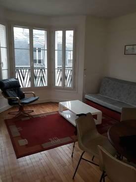 Location meublée appartement 2pièces 44m² Paris 15E (75015) - 1.450€
