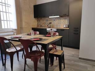 Location meublée appartement 3pièces 58m² Bordeaux (33000) - 1.450€